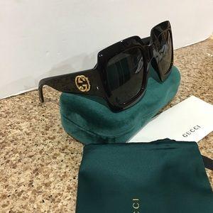 Square Frame Acetate Frame Sunglasses 🕶